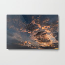 Small clouds in the sky. Metal Print