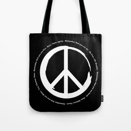 You Are Peace Tote Bag