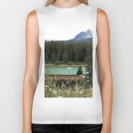 Banff Wildflowers Biker Tank
