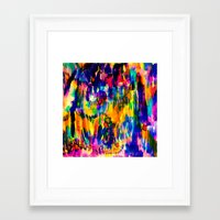 toucan Framed Art Prints featuring Toucan by Amy Sia