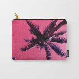 Palm Trees In Pink Lemonade Sunrise Tropical Sky Carry-All Pouch