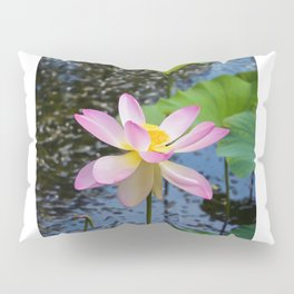Lotus In The Pond 3 Pillow Sham