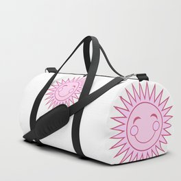 Happiness in Pink - Sunshine Series Duffle Bag