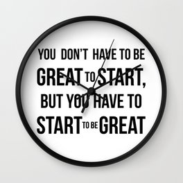 Start! Wall Clock