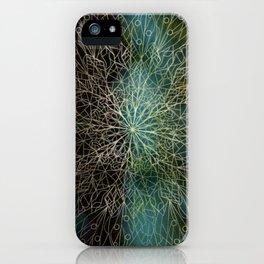 Forest Mandala iPhone Case