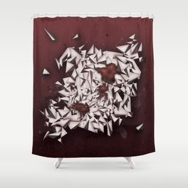 Rubies Shower Curtain