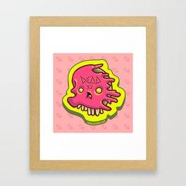 dead JellyFace Framed Art Print