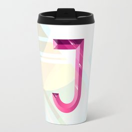 Crystal 'J' Travel Mug