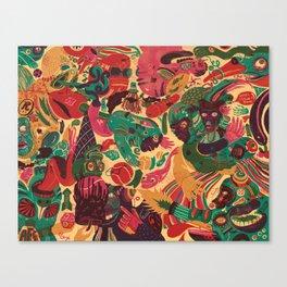 Sense Improvisation Canvas Print