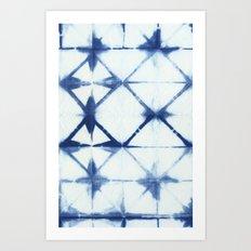 Shibori Thirteen Art Print