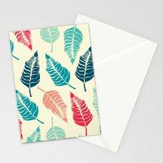 Leave Me Multi (Aqua Red) Stationery Cards