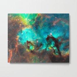 Galaxy / Seahorse / Large Magellanic Cloud / Tarantula Nebula / Space / Universe / Metal Print