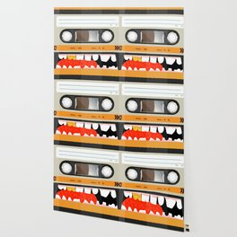 The cassette tape golden tooth Wallpaper
