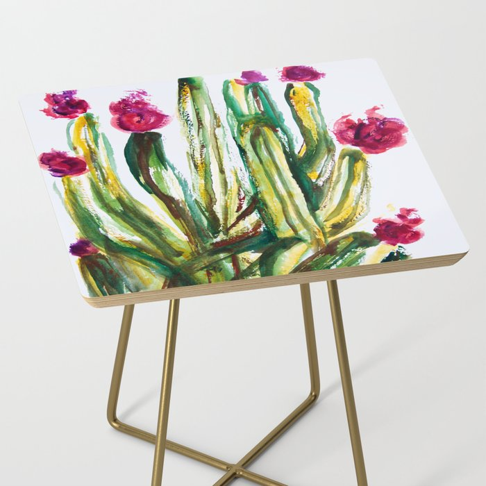 Crazy Cactus Side Table