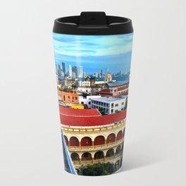 Cartagena, Colombia Metal Travel Mug