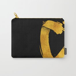 GOLD letter C Carry-All Pouch