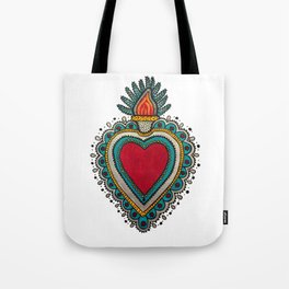 Mexican Heart Tote Bag