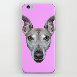 Whippet // Lilac (Vespa) iPhone Skin