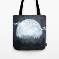 moonrise Tote Bags featuring Moonrise by Tracie Andrews