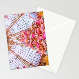 Stained Glass Dome at Galeries Lafayette Paris at Christmas Stationery Cards