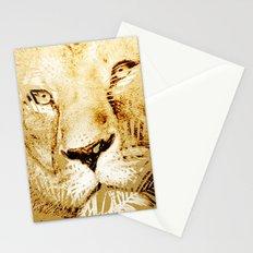 Tiger Palm Stationery Cards