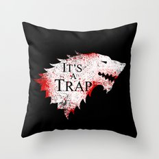 Dire Situation Throw Pillow