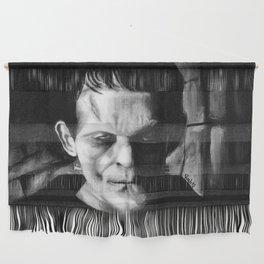 THE MONSTER of FRANKENSTEIN - Boris Karloff Wall Hanging