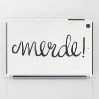 shit iPad Cases featuring Shit! by Cat Coquillette