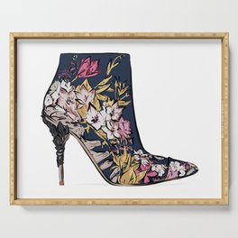 Shoe/Boot Illustration Serving Tray