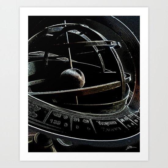 Astro 1 Art Print