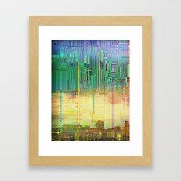 Atlante / CITIES over CITIES Framed Art Print