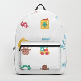 CUTE CHRISTMAS HOLIDAYS WINTER PATTERN Backpack
