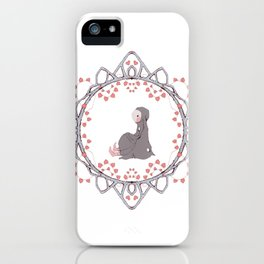 Young Bunny iPhone Case