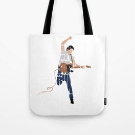 Typography Art of Boss of the Rock Bruce Frederick Springsteen Tote Bag