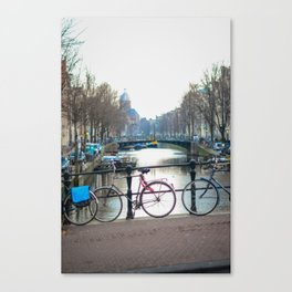 Amsterdam Mornings Canvas Print