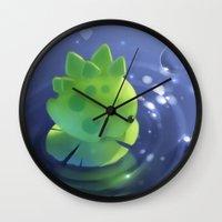 mini Wall Clocks featuring Mini Trip by apofiss