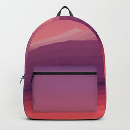 iso mountain evening Backpack