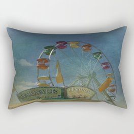 Textured Ferris Wheel Rectangular Pillow