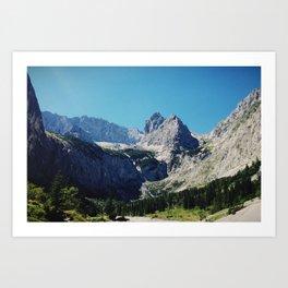 Grand Valley Art Print