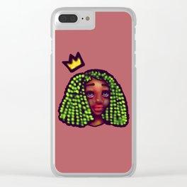 Black Femme Magic Clear iPhone Case