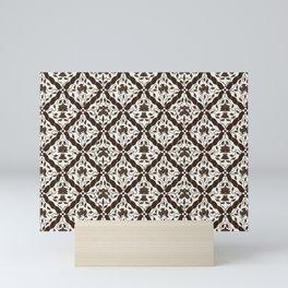 Batik Style 9 Mini Art Print