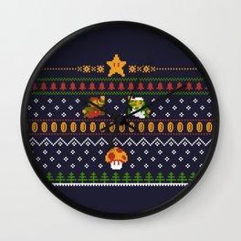 Mario Christmas Wall Clock