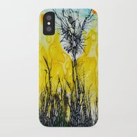 tim burton iPhone & iPod Cases featuring Tim Burton by Jose Luis