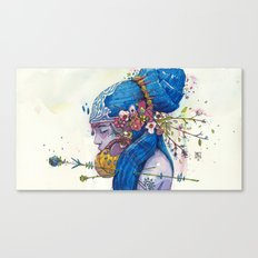 spring muse Canvas Print