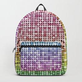Shiny Disco Ball Rainbow Backpack