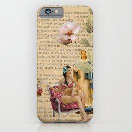 splash collage iPhone Case