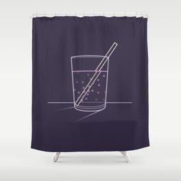 Neon soda Shower Curtain