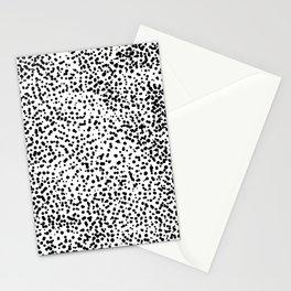Retro Themed Dot Pattern Design Stationery Cards