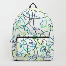 Greenery Squiggles Backpack