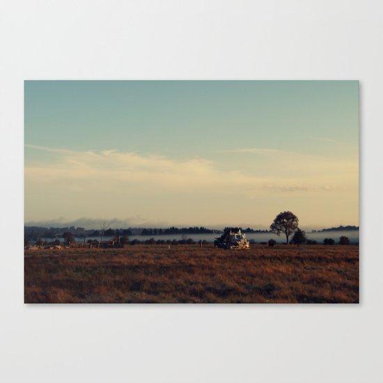 The Paddock Canvas Print